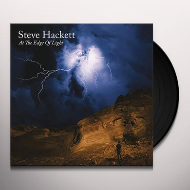 Steve Hackett AT THE EDGE OF LIGHT Vinyl Record