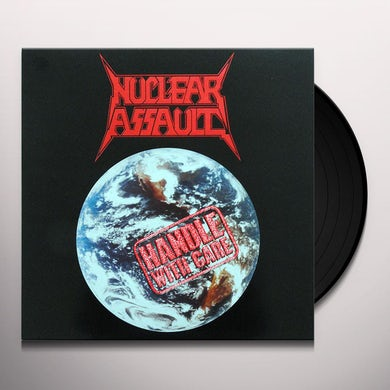 Nuclear Assault HANDLE WITH CARE Vinyl Record