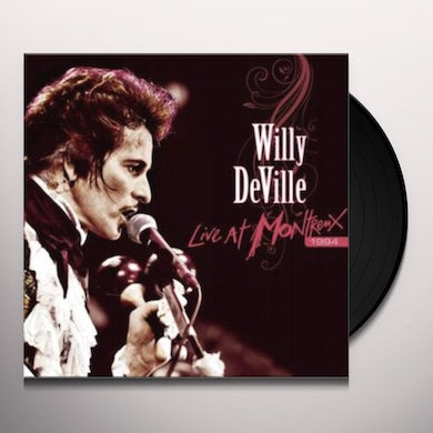Willy Deville LIVE AT MONTREUX 1994 Vinyl Record