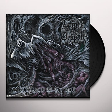 Crypts Of Despair STENCH OF THE EARTH Vinyl Record