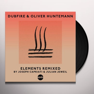 Dubfire & Oliver Huntemann ELEMENTS REMIXED Vinyl Record