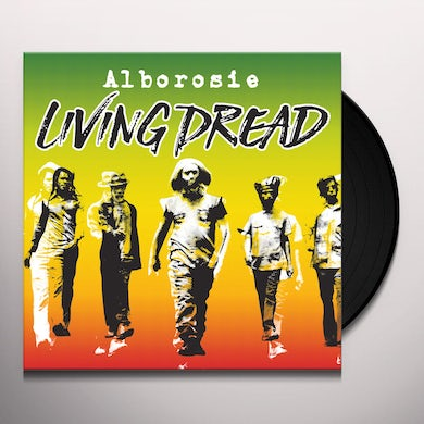 Alborosie LIVING DREAD Vinyl Record