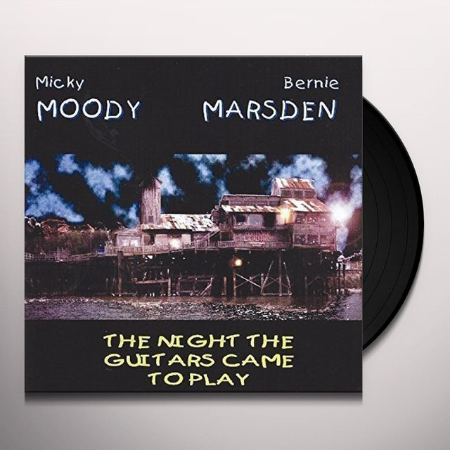 Micky Moody / Bernie Marsden NIGHT THE GUITARS Vinyl Record