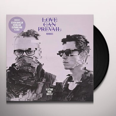 Electric Wire Hustle LOVE CAN PREVAIL REMIXES Vinyl Record