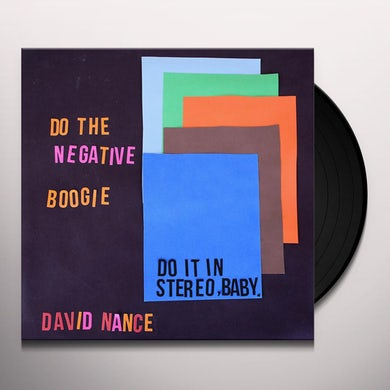 David Nance NEGATIVE BOOGIE Vinyl Record