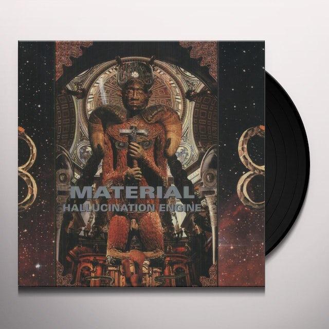 Material HALLUCINATION ENGINE Vinyl Record - 180 Gram Pressing