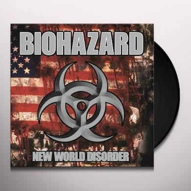 Biohazard NEW WORLD DISORDER Vinyl Record - 180 Gram Pressing