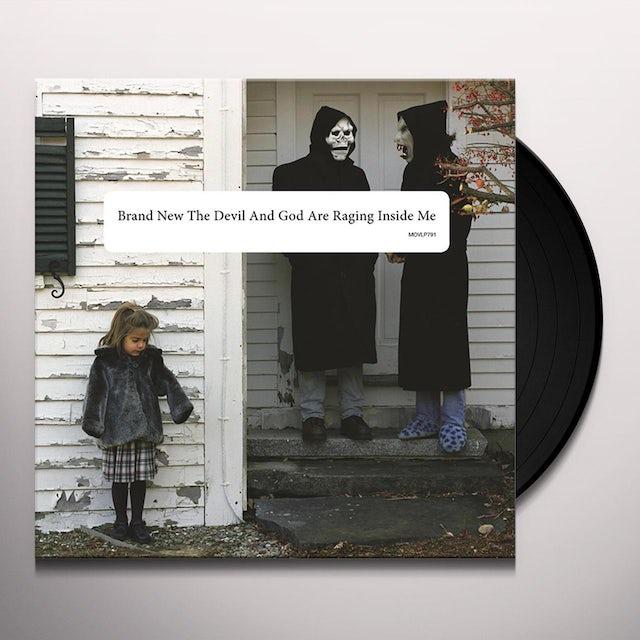 Brand New DEVIL & GOD ARE RAGING INSIDE ME Vinyl Record