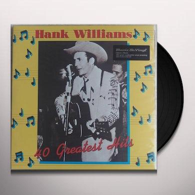 40 Greatest Hits Vinyl Record