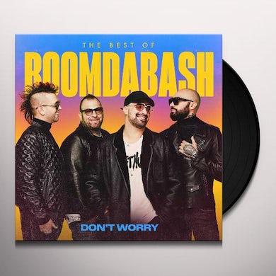 BoomDaBash DON'T WORRY (BEST OF 2005-2020) Vinyl Record