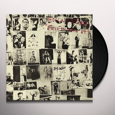 The Rolling Stones Exile On Main Street (2 LP) Vinyl Record