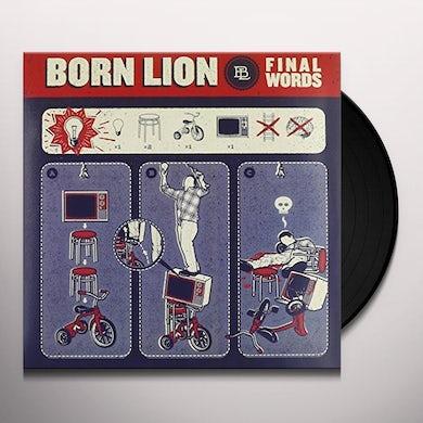 BORN LION FINAL WORDS Vinyl Record