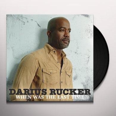 Darius Rucker When Was The Last Time Vinyl Record
