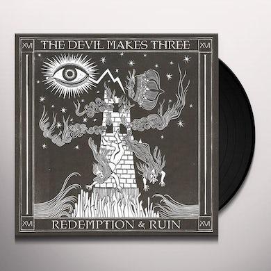 Devil Makes Three REDEMPTION & RUIN Vinyl Record
