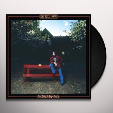 Gene Clark TWO SIDES TO EVERY STORY Vinyl Record