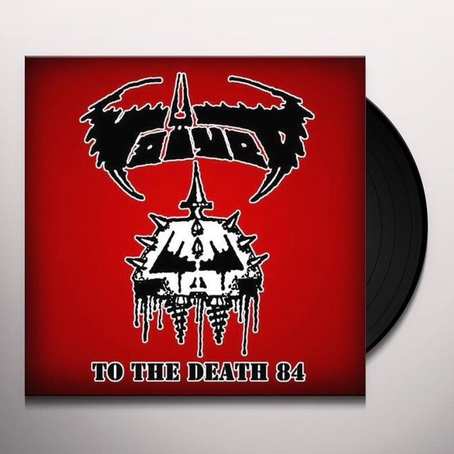 Voivod TO THE DEATH 84 Vinyl Record