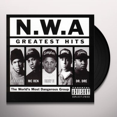 N.W.A. Greatest Hits Vinyl Record