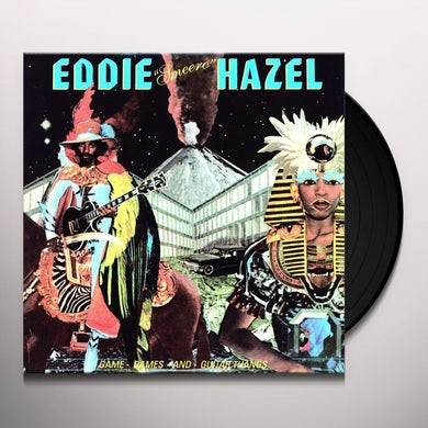 Eddie Hazel GAMES DAMES & GUITAR THANGS Vinyl Record