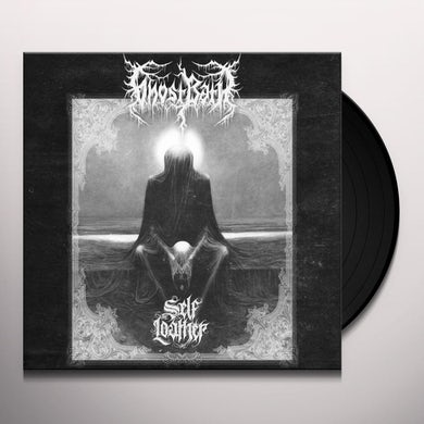 SELF LOATHER (BLACK GREY SWIRL VINYL) Vinyl Record