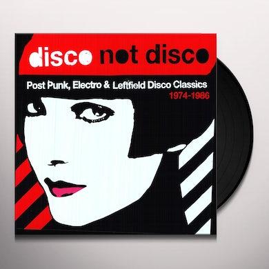 DISCO NOT DISCO POST PUNK ELECTRO & 1974-86 / VAR (Vinyl)