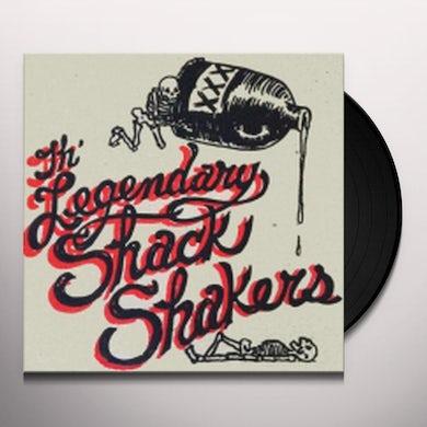 Legendary Shack Shakers GO HOG WILD / TICKLE YOUR INNERDS Vinyl Record