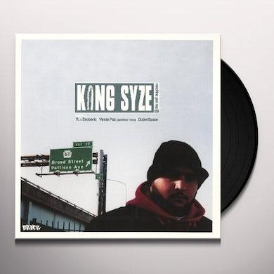 King Syze MACHINE GUN RAP / SIBLING RIVALRY Vinyl Record