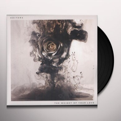 Editors WEIGHT OF YOUR LOVE Vinyl Record