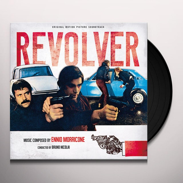 Ennio Morricone REVOLVER Vinyl Record