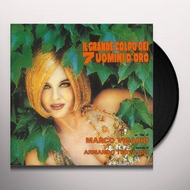 Il Grande Colpo Dei 7 Uomini D'Oro / O.S.T. IL GRANDE COLPO DEI 7 UOMINI D'ORO / Original Soundtrack Vinyl Record