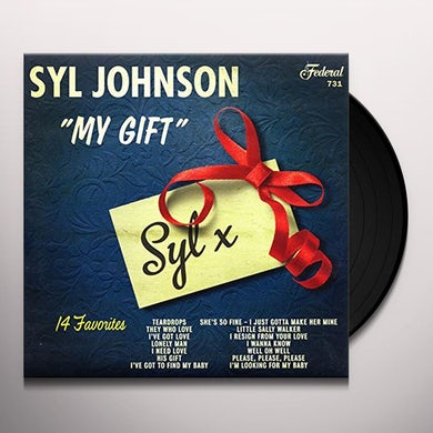 Syl Johnson MY GIFT Vinyl Record