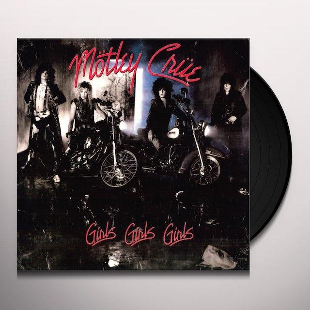 Mötley Crüe GIRLS GIRLS GIRLS Vinyl Record