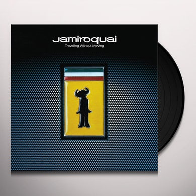 Jamiroquai TRAVELING WITHOUT MOVING Vinyl Record