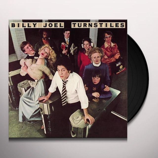 Billy Joel TURNSTILES Vinyl Record - 180 Gram Pressing