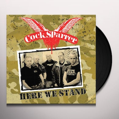 Cock Sparrer HERE WE STAND Vinyl Record