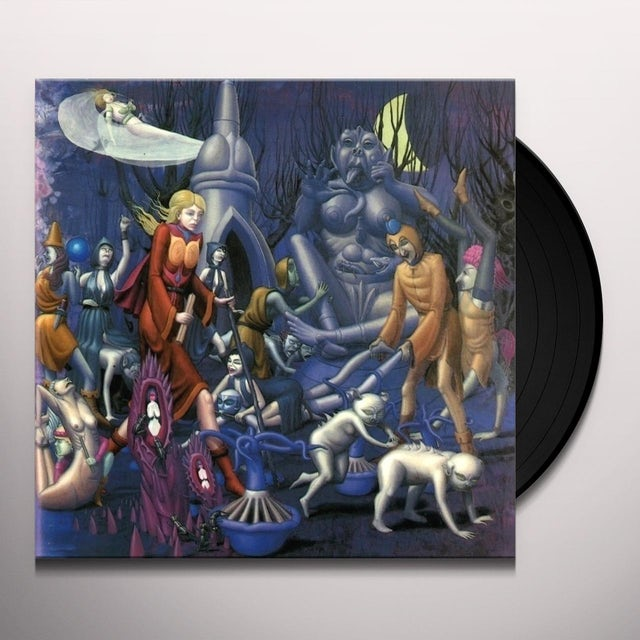 Cathedral FOREST OF EQUILIBRIUM & SOUL SACRIFICE Vinyl Record