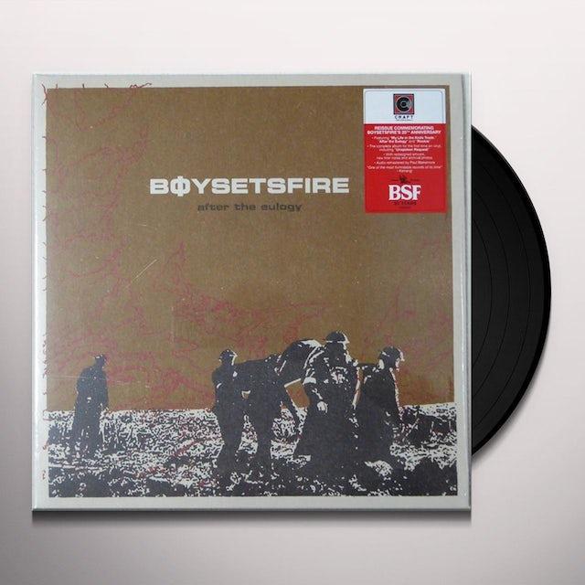 Boysetsfire AFTER THE EULOGY Vinyl Record
