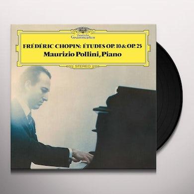 Maurizio Pollini Chopin: 24 Etudes Op. 10 & Op. 25 Vinyl Record
