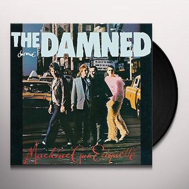 The Damned MACHINE GUN ETIQUETTE Vinyl Record