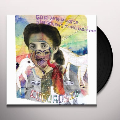 Cocorosie GOD HAS A VOICE SHE SPEAKS THROUGH ME Vinyl Record