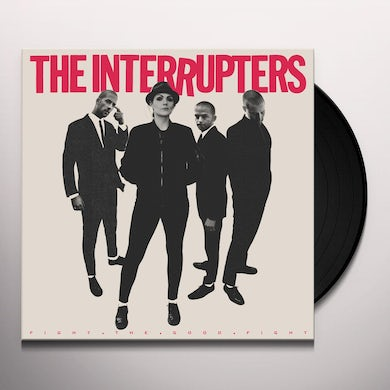 The Interrupters FIGHT THE GOOD FIGHT Vinyl Record