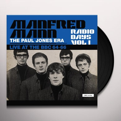 Manfred Mann  Radio Days: Vol. 1: Live At The BBC: 1964-1966 Vinyl Record