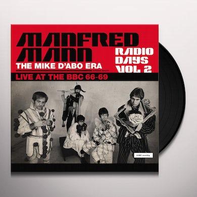 Manfred Mann  Radio Days: Vol. 2: Live At The BBC: 1966-1969 Vinyl Record