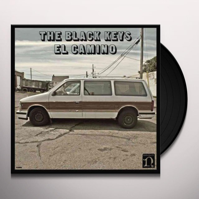 Black Keys EL CAMINO Vinyl Record