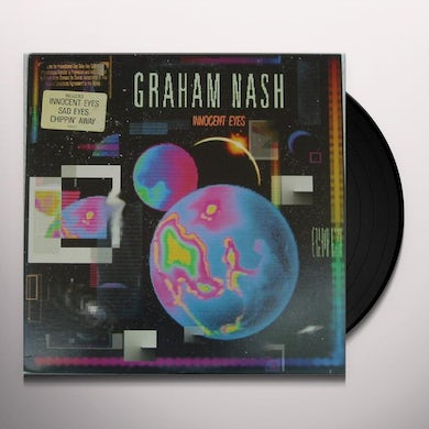 Graham Nash INNOCENT EYES Vinyl Record