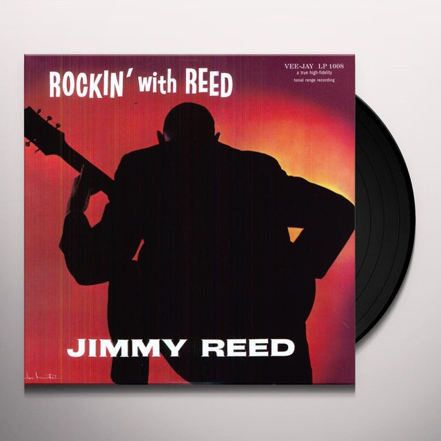 Jimmy Reed ROCKIN WITH REED Vinyl Record