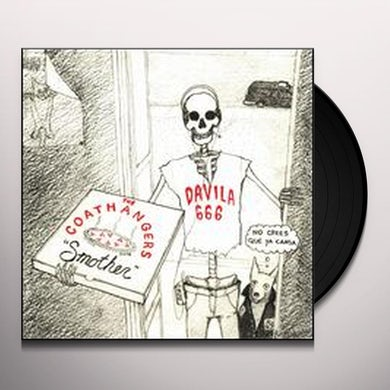 Coathangers / Davila 666 SMOTHER/NO CREES QUE YA CANSA Vinyl Record