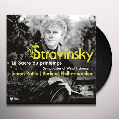 Sir Simon Rattle Stravinsky: Le Sacre Du Printe Vinyl Record