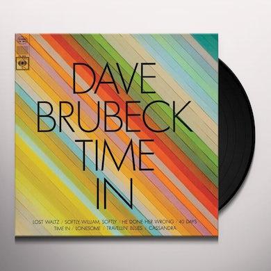 Dave Brubeck TIME IN Vinyl Record