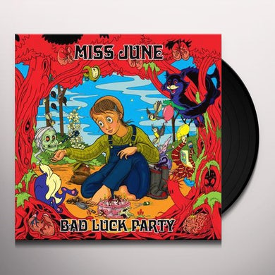 Miss June BAD LUCK PARTY Vinyl Record