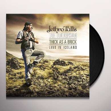 THICK AS A BRICK - LIVE IN ICELAND Vinyl Record